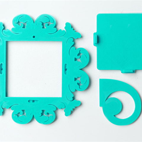 download-15.png Download free STL file Delphine Frame • 3D printing template, DDDeco