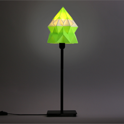 Download free 3D print files Origami Table Lamp, DDDeco