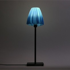 Free 3D print files Drape Table Lamp, DDDeco
