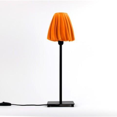 orange_AJL44192SI.jpg Download free STL file Drape Table Lamp • 3D printable object, DDDeco