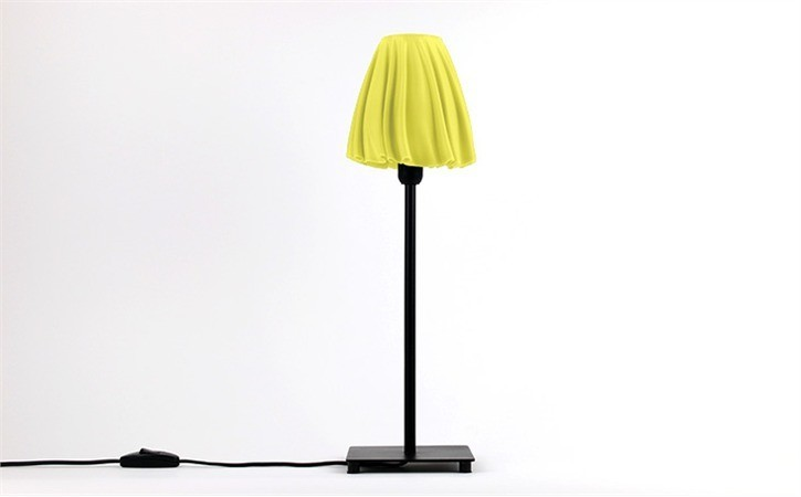 yellow_LA26WF2G2W.jpg Download free STL file Drape Table Lamp • 3D printable object, DDDeco