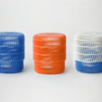 Download free STL files Crayon Holder with Lid, DDDeco