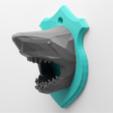Download free STL file Shark Head • 3D printing design, DDDeco