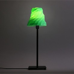 1_2LS93J2XWY.jpg Download free STL file Facet Table Lamp • Design to 3D print, DDDeco