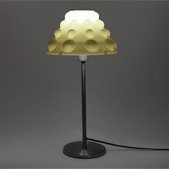 2_4S75WQUXGG.jpg Download free STL file Bubble Table Lamp - Empire • 3D printable template, DDDeco