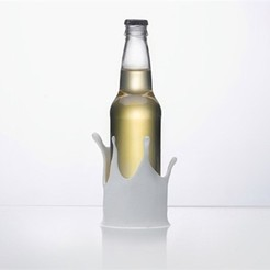 Free 3D printer model Splash Beer Coozie, DDDeco
