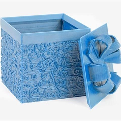 01.07.2015_RJKRKIFG4Q.jpg Download free STL file Gift Box - Medium • 3D printer model, DDDeco