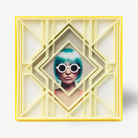Free STL Art Deco Diamond Frame, DDDeco