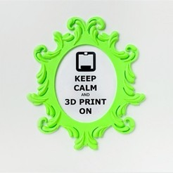 Download free 3D printer templates Veronique Frame, DDDeco