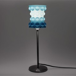 Free STL files Bubble Table Lamp - Hourglass, DDDeco