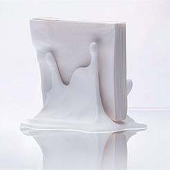 Free 3D printer model Splash Napkin Holder, DDDeco