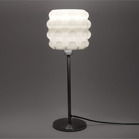 fichier stl gratuit lampe de table bulle tambour cults. Black Bedroom Furniture Sets. Home Design Ideas