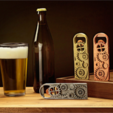 Free 3D printer model Gear Bottle Opener, DDDeco