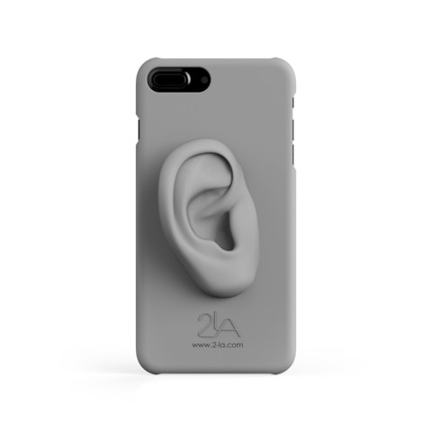 3rd ear iPhone case.2650.jpg Download free STL file 2-LA 3rd ear case for iPhone 7 plus • Template to 3D print, 2LA