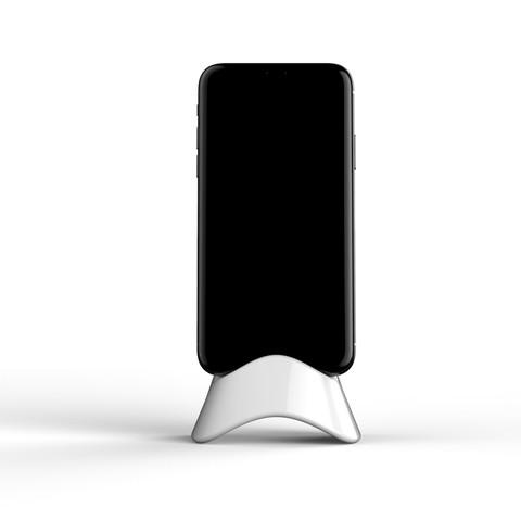 untitled.3425.jpg Download STL file Mask phone holder • 3D printer object, 2LA