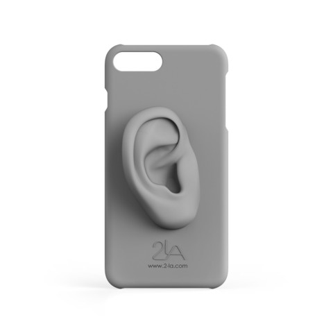 3rd ear iPhone case.2651.jpg Download free STL file 2-LA 3rd ear case for iPhone 7 plus • Template to 3D print, 2LA