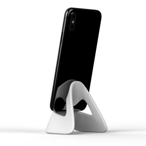 untitled.3424.jpg Download STL file Mask phone holder • 3D printer object, 2LA