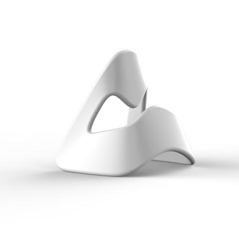 untitled.3415.jpg Download STL file Mask phone holder • 3D printer object, 2LA