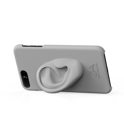 3rd ear iPhone case.2654.jpg Download free STL file 2-LA 3rd ear case for iPhone 7 plus • Template to 3D print, 2LA