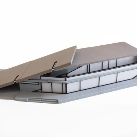 Imprimir en 3D gratis Cliff House, imj