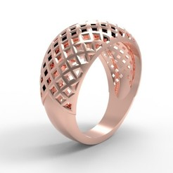 Download 3D printer designs Square Ring, imj