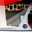 Descargar modelo 3D gratis Puente Atirantado, imj