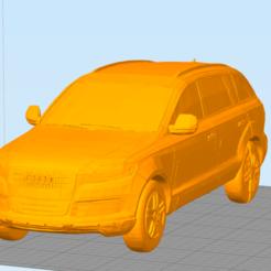 Download OBJ file Audi Q7 • 3D print object, slayerzetsu
