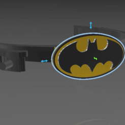 Download 3MF file batman faceshield face shield visor • 3D printing model, slayerzetsu