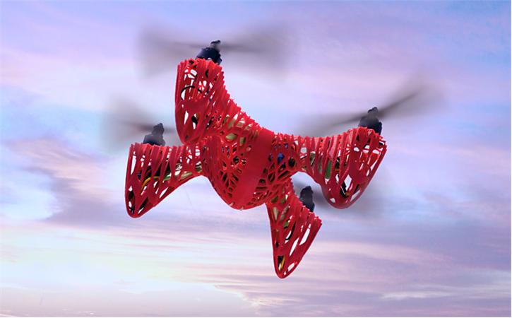 download-4.png Download free STL file Skeleton X-14 Quadcopter • 3D printable model, Dadddy
