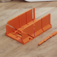 Free 3D printer model Miter Box, han3dyman