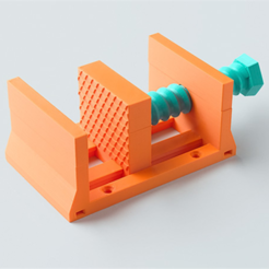 Download free 3D printing templates Mini Vise, han3dyman