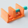 Download free 3D printing templates Mini Vise, han3dyman