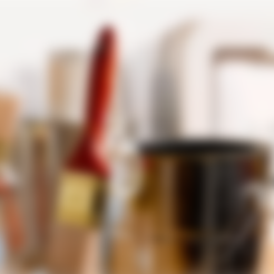 Download free STL file Paint Brush Holder • Template to 3D print, han3dyman