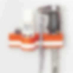 Archivos STL gratis Organizador de herramientas colgantes, han3dyman