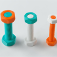 Download free 3D printing designs Bolt Collection, han3dyman