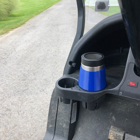 IMG_0114.jpg Download free STL file Yeti Rambler Colster Koozie Cup Holder Adapter • 3D printer object, ThatJoshGuy