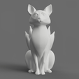 Download free 3D printer templates Kitsune - Easy Print, no supports required. New V3!!!, ThatJoshGuy