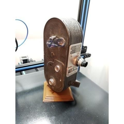 Télécharger plan imprimante 3D gatuit Base de présentation pour appareil photo antique, ThatJoshGuy