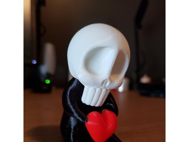 3cc3e6eacb6bfc02d23b529a4de49fea_preview_featured.jpg Download free STL file SkullBaby Love - Cute Chibi Skull Heart Figurine Sculpture • 3D printing design, ThatJoshGuy