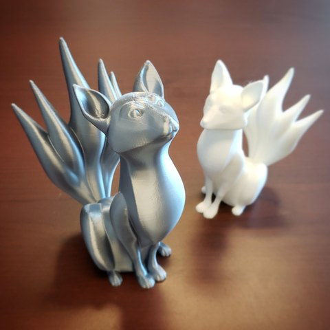 IMG_20190624_071420_377.jpg Download free STL file Kitsune - Easy Print, no supports required. New V3!!! • Design to 3D print, ThatJoshGuy