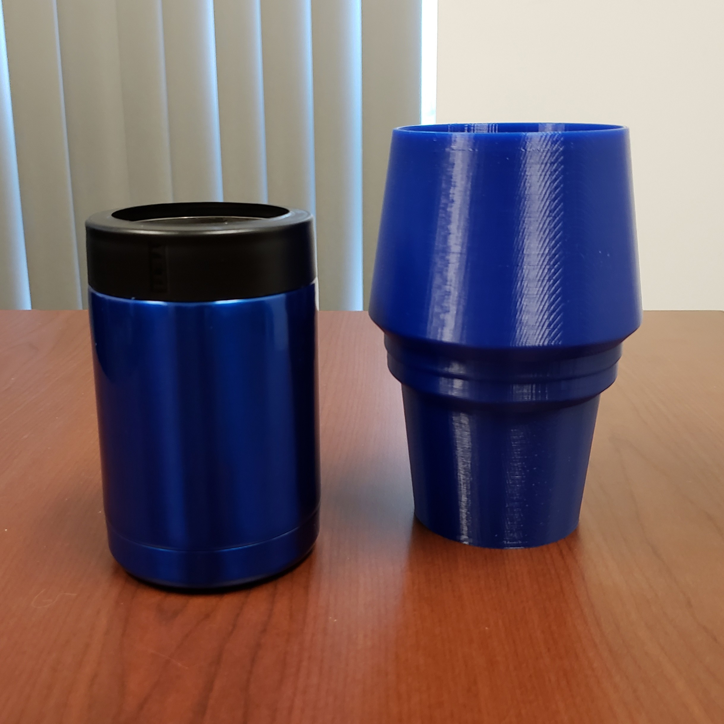 20180817_080418.jpg Download free STL file Yeti Rambler Colster Koozie Cup Holder Adapter • 3D printer object, ThatJoshGuy
