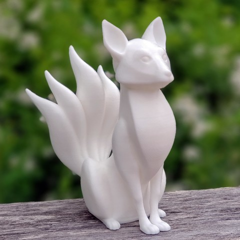 20190521_084503.jpg Download free STL file Kitsune - Easy Print, no supports required. New V3!!! • Design to 3D print, ThatJoshGuy