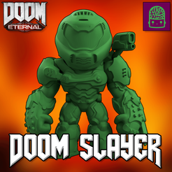 21.png Download STL file Doom Eternal Doom Slayer Collectible Figurine High Res Custom Model • 3D printer design, ThatJoshGuy