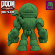 Télécharger fichier STL Figurine à collectionner Doom Eternal Doom Slayer Modèle personnalisé haute résolution • Objet imprimable en 3D, ThatJoshGuy