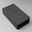 """Télécharger fichier imprimante 3D gratuit """"PAS DE DISTRACTIONS !"""" Cette boîte sauvera votre mariage ! Boîte de cage de Faraday pour téléphone cellulaire double, ThatJoshGuy"""