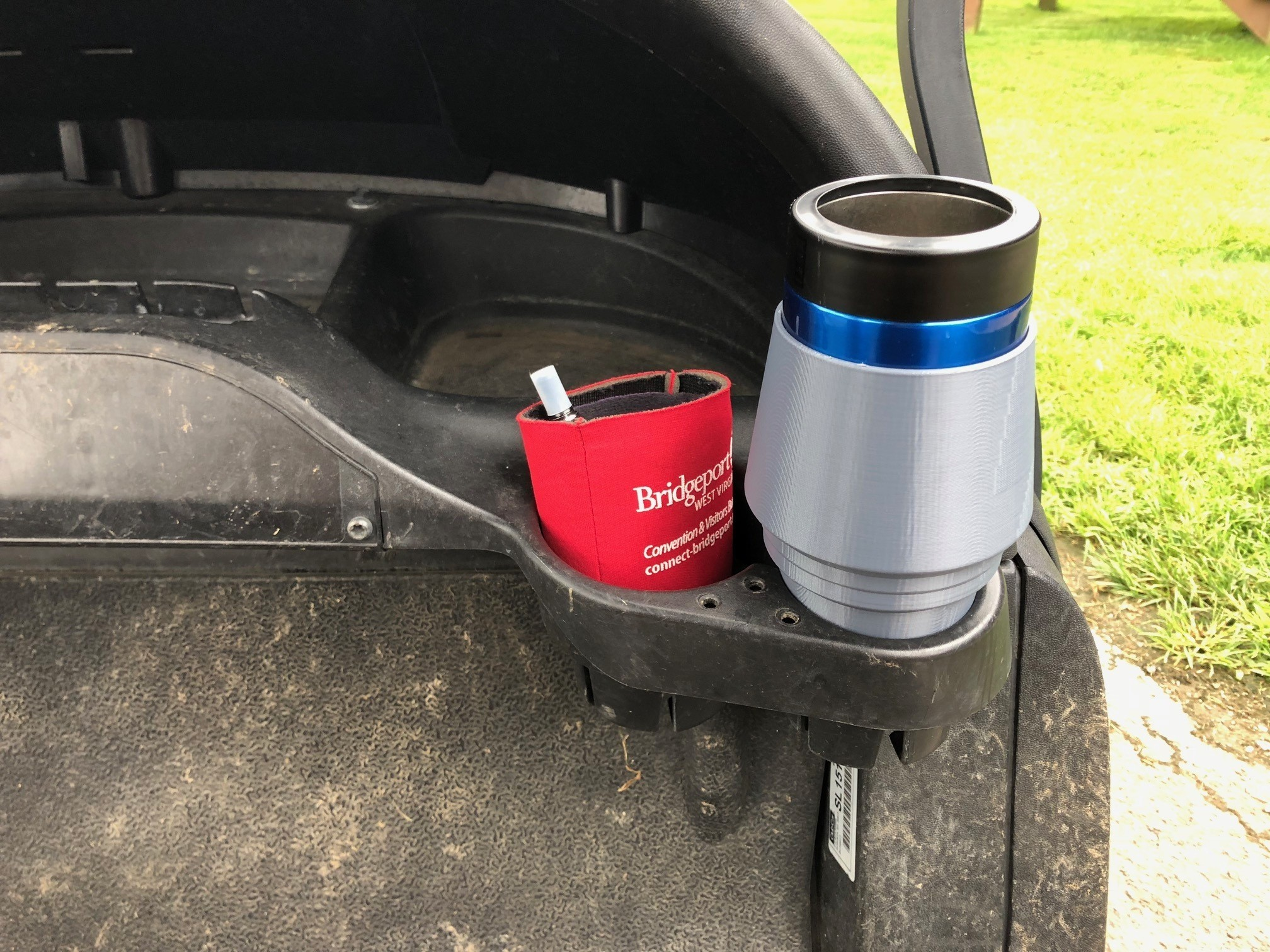 IMG_0113.jpg Download free STL file Yeti Rambler Colster Koozie Cup Holder Adapter • 3D printer object, ThatJoshGuy