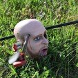 Download free STL file HeadOCopter! Life size 3D scanned Human Head DRONE!, ThatJoshGuy