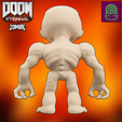 Download STL file Doom Eternal Zombie Collectible Figurine High Res Custom Model, ThatJoshGuy