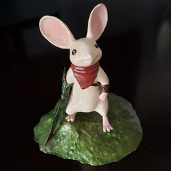 "3D print model Quill from Polyarc Game ""Moss"", ThatJoshGuy"