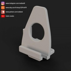 Smartphone04.jpg Download free STL file SmartPhone Stand. • Design to 3D print, cedland